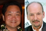 Sony's Ken Kutaragi (left) Versus Microsoft's Peter Moore (right).